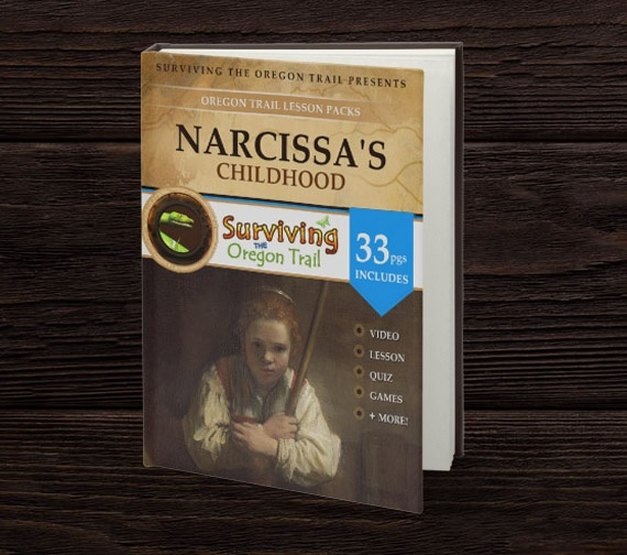 Book Cover Design Narcissa Educational pack